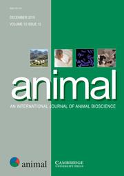 animal Volume 13 - Issue 12 -