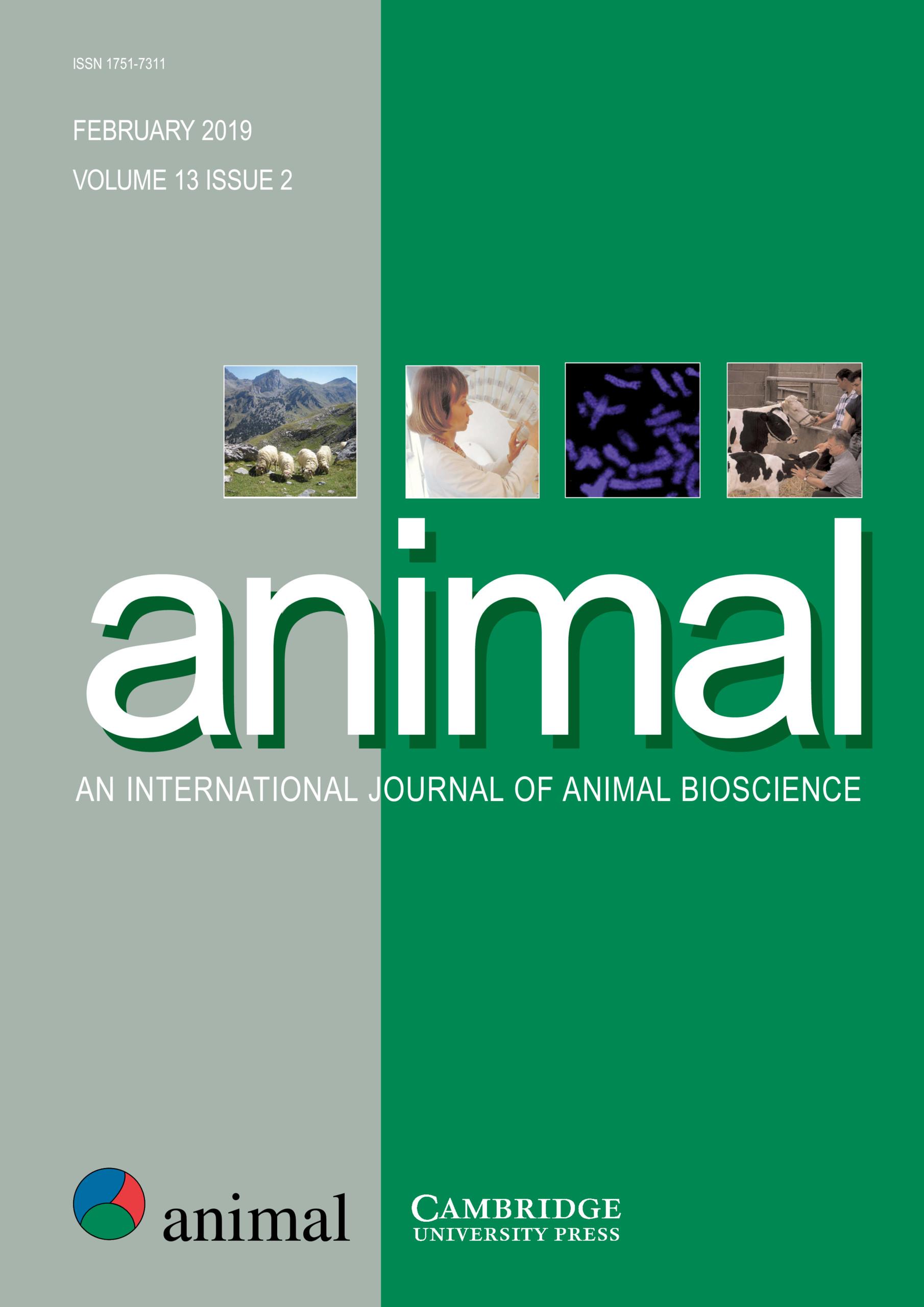 animal Volume 13 - Issue 2 -