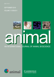 animal Volume 13 - Issue 9 -