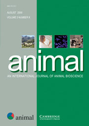 animal Volume 3 - Issue 8 -
