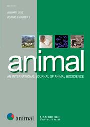 animal Volume 6 - Issue 1 -