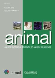 animal Volume 7 - Issue 8 -