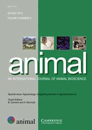 animal Volume 8 - Special Issue8 -  Agroecology: integrating animals in agroecosystems