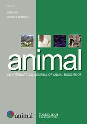 animal Volume 9 - Issue 6 -