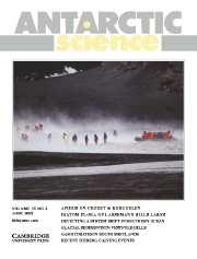 Antarctic Science Volume 15 - Issue 2 -