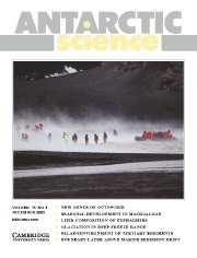 Antarctic Science Volume 15 - Issue 4 -