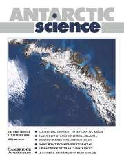 Antarctic Science Volume 16 - Issue 3 -