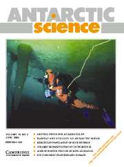 Antarctic Science Volume 18 - Issue 2 -