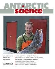Antarctic Science Volume 19 - Issue 1 -