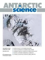 Antarctic Science Volume 20 - Issue 1 -