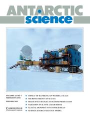 Antarctic Science Volume 22 - Issue 1 -