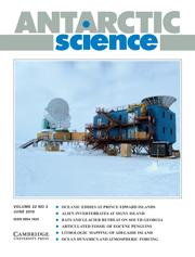 Antarctic Science Volume 22 - Issue 3 -