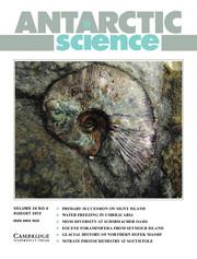 Antarctic Science Volume 24 - Issue 4 -