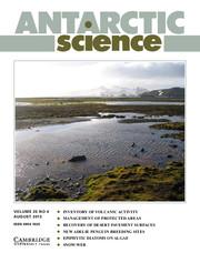Antarctic Science Volume 25 - Issue 4 -