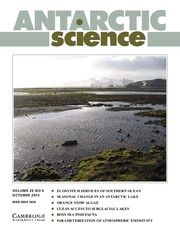 Antarctic Science Volume 25 - Issue 5 -