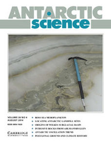 Antarctic Science Volume 26 - Issue 4 -