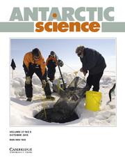 Antarctic Science Volume 27 - Issue 5 -