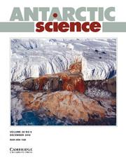 Antarctic Science Volume 28 - Issue 6 -