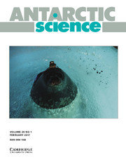 Antarctic Science Volume 29 - Issue 1 -
