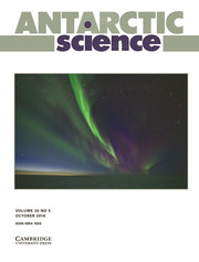 Antarctic Science Volume 30 - Issue 5 -