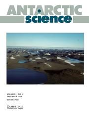 Antarctic Science Volume 31 - Issue 6 -