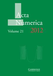 Acta Numerica Volume 21 - Issue  -