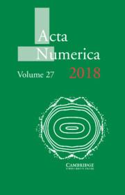 Acta Numerica Volume 27 - Issue  -