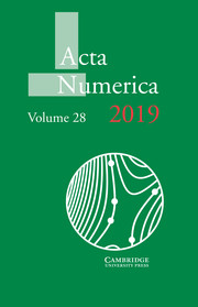 Acta Numerica Volume 28 - Issue  -