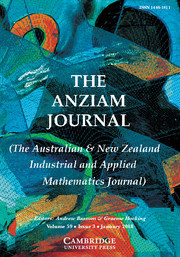The ANZIAM Journal Volume 59 - Issue 3 -
