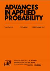 Advances in Applied Probability Volume 49 - Issue 3 -