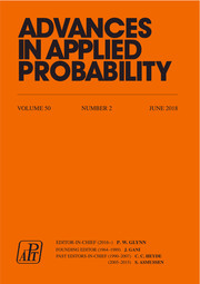 Advances in Applied Probability Volume 50 - Issue 2 -