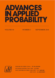 Advances in Applied Probability Volume 50 - Issue 3 -