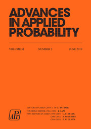 Advances in Applied Probability Volume 51 - Issue 2 -