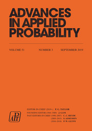 Advances in Applied Probability Volume 51 - Issue 3 -