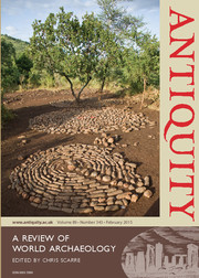 Antiquity Volume 89 - Issue 343 -