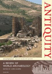 Antiquity Volume 89 - Issue 344 -