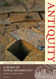 Antiquity Volume 90 - Issue 351 -