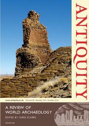Antiquity Volume 90 - Issue 353 -