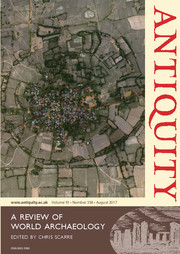 Antiquity Volume 91 - Issue 358 -