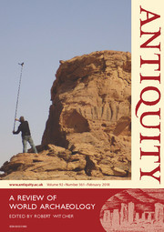 Antiquity Volume 92 - Issue 361 -