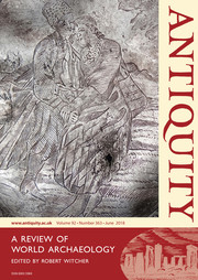 Antiquity Volume 92 - Issue 363 -