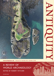 Antiquity Volume 92 - Issue 365 -