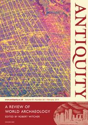 Antiquity Volume 93 - Issue 367 -