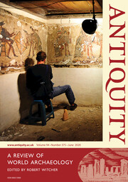 Antiquity Volume 94 - Issue 375 -