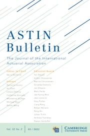 ASTIN Bulletin: The Journal of the International Actuarial Association
