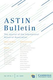 ASTIN Bulletin: The Journal of the IAA Volume 49 - Issue 1 -