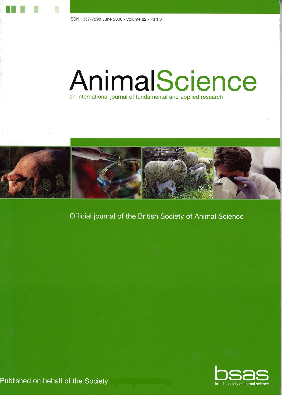 Animal Science Volume 82 - Issue 5 -