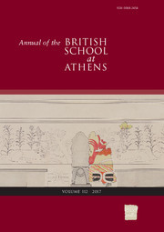Annual of the British School at Athens Volume 112 - Issue  -