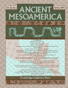 Ancient Mesoamerica Volume 25 - Issue 1 -