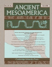 Ancient Mesoamerica Volume 29 - Special Issue2 -  Recent Research on Izapa Archaeology and Iconography